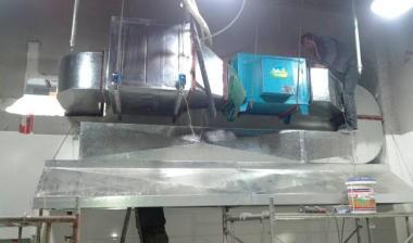 排风油烟净化器清洗步骤